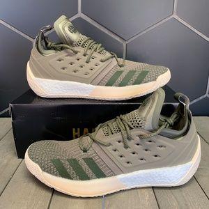 Adidas Harden Volume 2 Night Olive Cargo Shoes